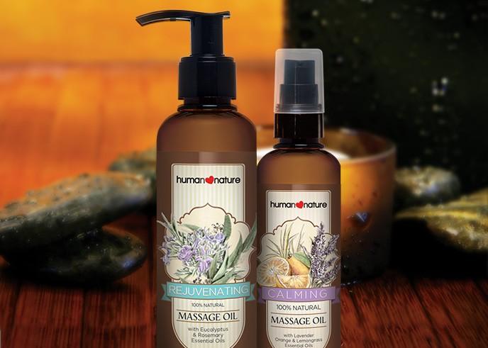 Massage Oil Human Nature Singapore Cosmetics With 100