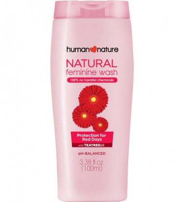 Natural Feminine Wash Protection for Red Days