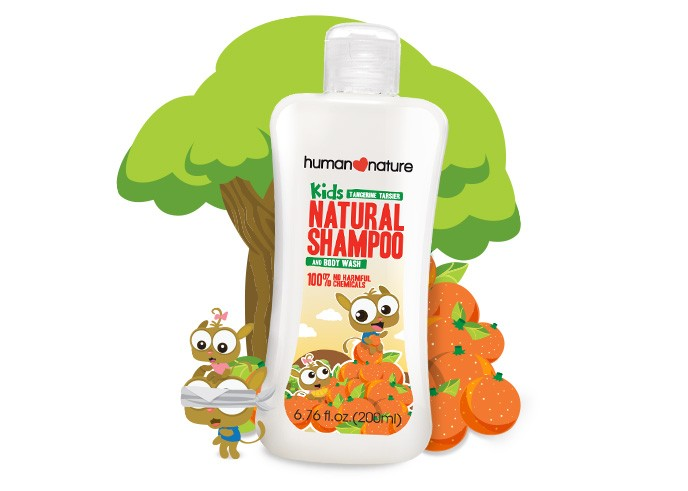 Kids Natural Shampoo & Body Wash