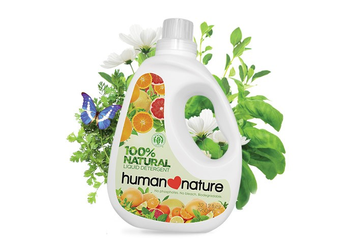 Natural Liquid Detergent Human Nature Singapore