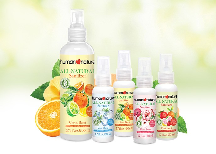 All Natural Spray Sanitizer
