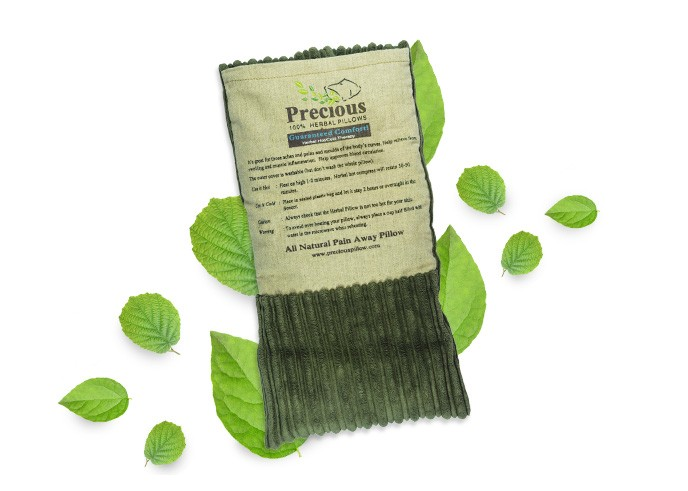 Precious Herbal Small Pillow - Human Nature Singapore - Cosmetics with 100% No Harmful Chemicals