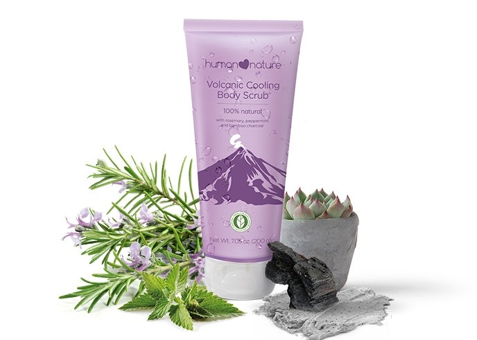 Volcanic Cooling Body Scrub